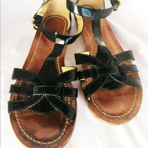 Coach Shoes Jelly Sandals W Gold Buckle In Box Poshmark